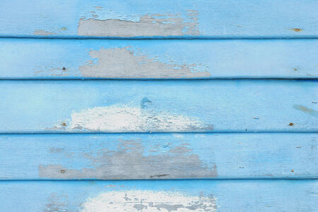 Wood plank blue brown and green texture background vintage photo