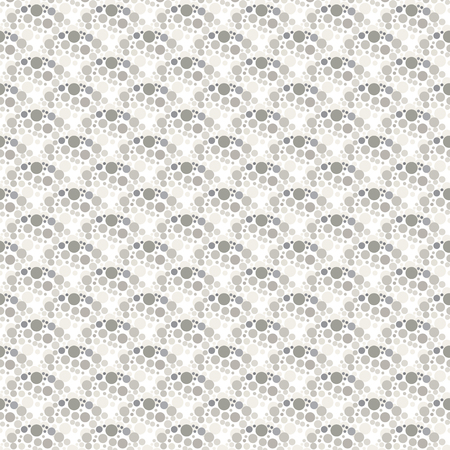 Vector seamless pattern background with chaotic dots stylish texture half tone Vector