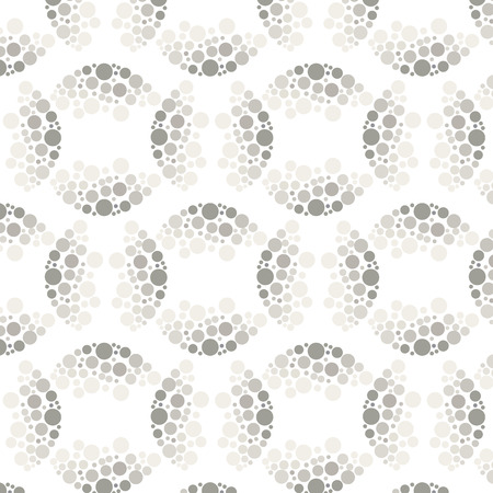 half tone: Vector seamless pattern background with chaotic dots texture half tone