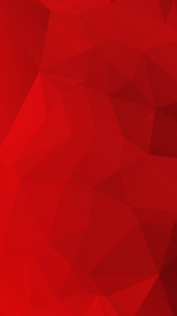 Red rose ruby color in geometric rumpled triangular low poly style vector Background for Smart phone