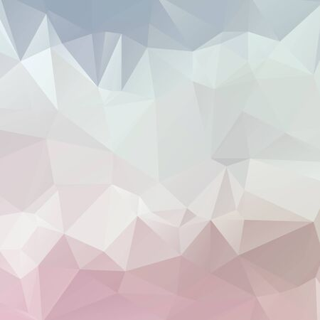 Abstract pastel color triangle shape background vector illustration Illustration