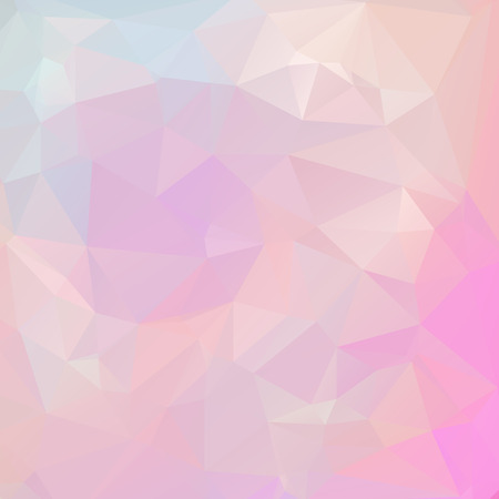 pastel colors: Abstract pastel color triangle shape background vector illustration Illustration