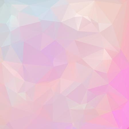 Abstract pastel color triangle shape background vector illustration Ilustração