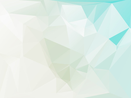 rumpled: Blue and white abstract geometric rumpled triangular low poly style vector illustration graphic background