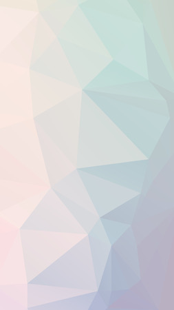 parametric: Blue purple light Pastel geometric rumpled triangular low poly style vector Background for Smart phone Illustration