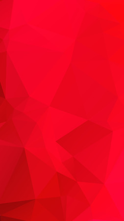 ruby: Red rose ruby color in geometric rumpled triangular low poly style vector Background for Smart phone