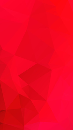parametric: Red rose ruby color in geometric rumpled triangular low poly style vector Background for Smart phone