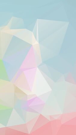 parametric: Pink blue light Pastel geometric rumpled triangular low poly style vector Background for Smart phone