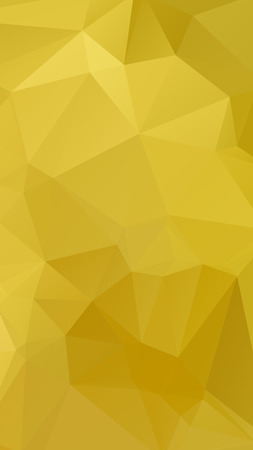 parametric: Gold color geometric rumpled triangular low poly style vector Background for Smart phone