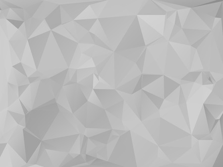 rumpled: Gray dark abstract geometric rumpled triangular low poly style vector illustration graphic background