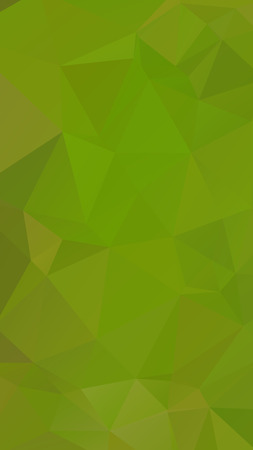 parametric: Green nature military color geometric rumpled triangular low poly style vector Background for Smart phone Illustration