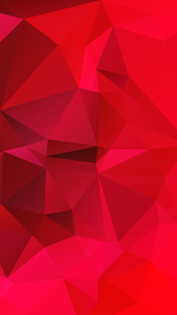 parametric: Red rose color in geometric rumpled triangular low poly style vector Background for Smart phone