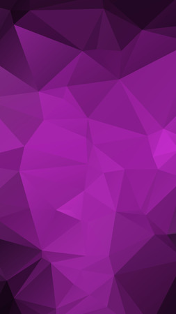 Purple Color geometric rumpled triangular low poly style vector Background for Smart phone