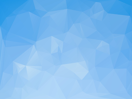 rumpled: Blue white abstract geometric rumpled triangular low poly style vector illustration graphic background