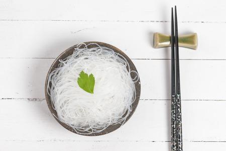vermicelli: Mung bean vermicelli or cellophane noodles