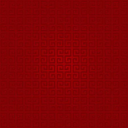 snake calligraphy: abstract chinese new year background vector design in red