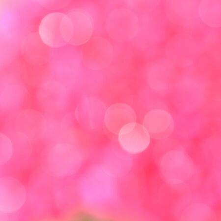 Pink background with bokeh defocused lights Stock Photo