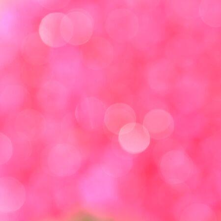 Pink background with bokeh defocused lights Standard-Bild