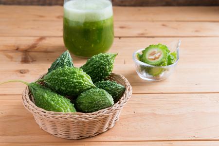 Herbal juice of green momodica