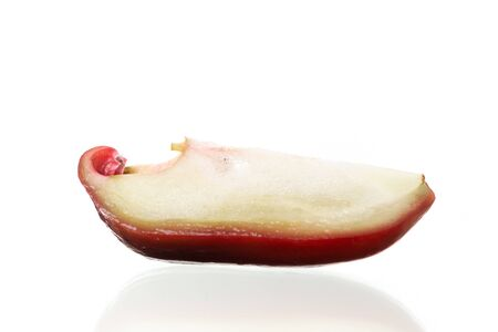 Thailand rose apple fruit flavors of sweet red gloss. Rose apple isolated on white background