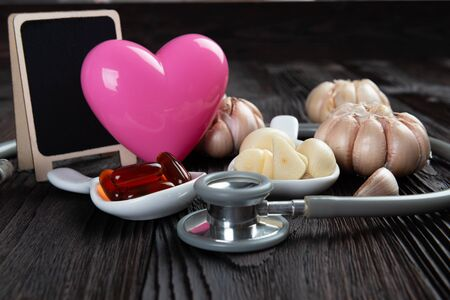 Garlic and oil capsules and Heart health benefits of garlic