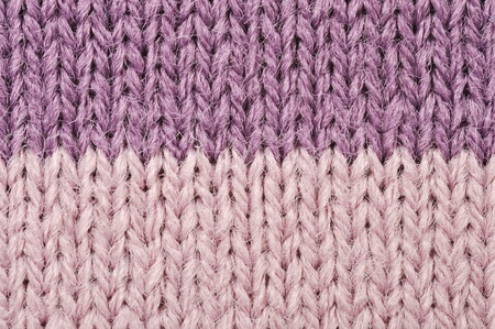 High resolution knitted detail of fabric trico photo