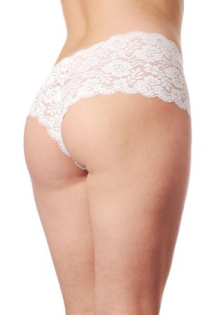 Beautiful woman body isolated on white background Stock Photo - 9302715