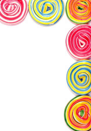 candy border: Colorful border