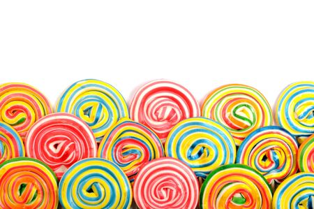 colourful candy: Colorful border