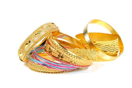 gold jewellery: Jewelry Stock Photo