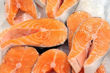 Fresh salmon fillet Stock Photo - 16318870