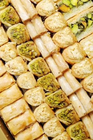 Lebanese sweets photo