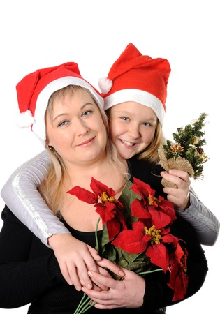 Mother with her teen doughter Stock Photo - 16732541