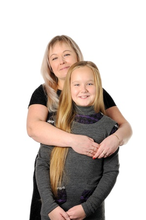 Mother with her teen doughter Stock Photo - 16732540