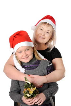 Mother with her teen doughter Stock Photo - 16732537