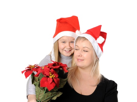 Christmas family Stock Photo - 17053772