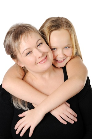 Mother with her teen doughter Stock Photo - 17099235