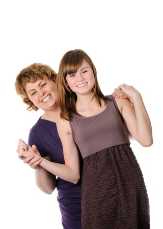 Happy mother and doughter Stock Photo - 17099232