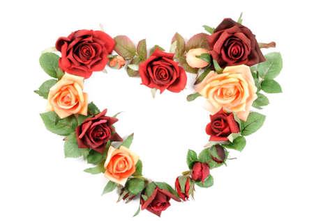 Roses heart Stock Photo - 17454112