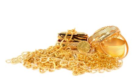 karat: Golden jewelry