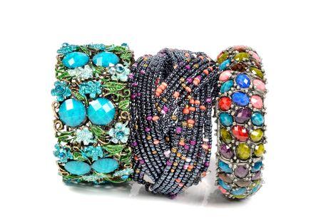 karat: Bracelets Stock Photo