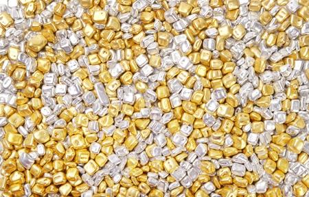 Gold and silver Reklamní fotografie