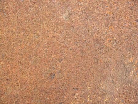 Grunge rusty metal plate texture Stock Photo