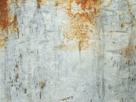 Texture of rusty metal sheet