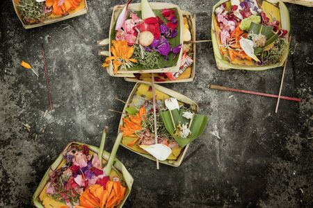 balinese: Canang, a Balinese offering to the Gods