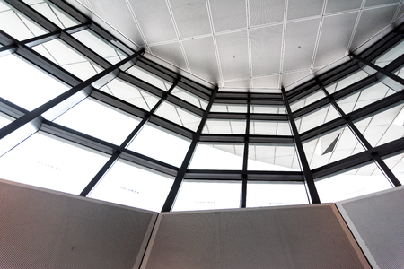 Dalian International Conference Center interior structure view Editorial
