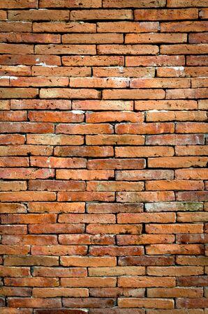 ladrillo: Antiguo grunge pared de ladrillo textura de fondo