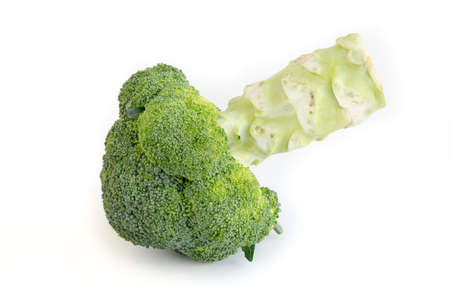 brocoli: Broccoli on a white background
