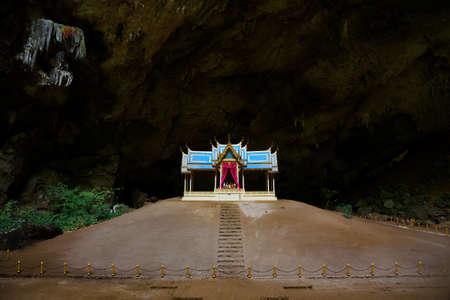 Prachuap Khiri Khan , Thailand-July 11,2020: The royal pailion at Phraya Nakhon Cave landmark of Prachuap Khiri Khan province. Editorial