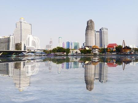 benjakitti: Bangkok skyline